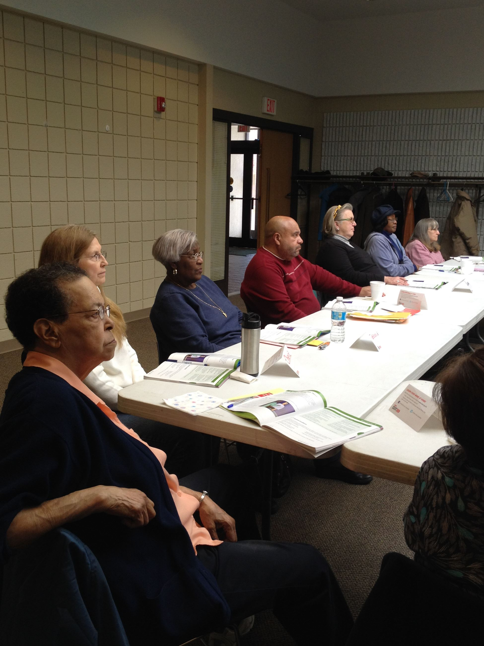 older adults attend the Smart Drivers Course